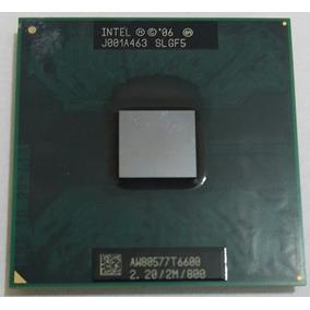 Processador Intel Core2 Duo T6600 Cache 2m 2,20ghz Fsb 800