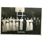 Foto Club Bochin Liniers Baile Ferrandis Vestido Moda 1936