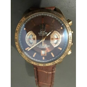 34dd2154586 Relogio Automatico Grand Carrera 17 Pulseira Couro - Relógios De ...