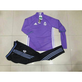 Conjunto adidas Buzo Y Pantalon Chupin Real Madrid
