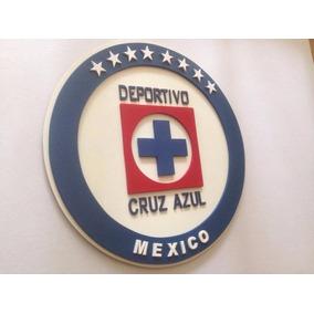 Cruz Azul, Logo En Madera Mdf