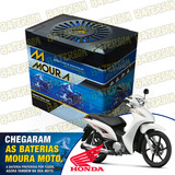 Bateria Moura Moto 5ah Honda Biz 125cc
