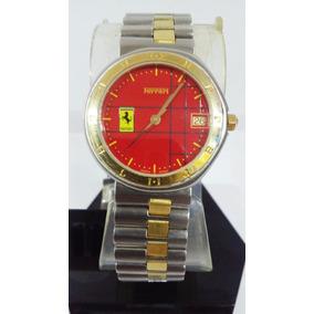 Reloj Cartier Ferrari Acero Oro Dama Año 1991