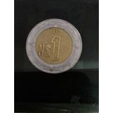 Moneda De 1 Peso De 1992.