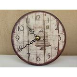 Subasta Set 4 Relojes Escritorio Mesa Shabby Vintage Liquido