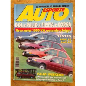 Revista Auto Esporte - Fev 97 - Gol X Palio X Fiesta X Corsa