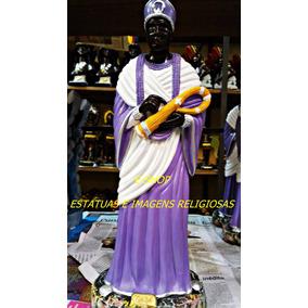 Imagem Orixa Nanâ Estatua Africa Gesso 40c Umbanda Candomble