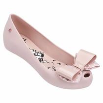 Melissa Minnie Iv Sapatilha Mulher Luxo Sapato Sandália Ad