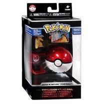 Pokémon Trainer Typhlosion Con Pokebola Unova Tomy 2016