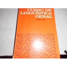 Livro Curso De Linguística Geral