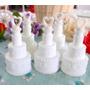 24 Mini Bolha De Sabão Bolo Para Casamento