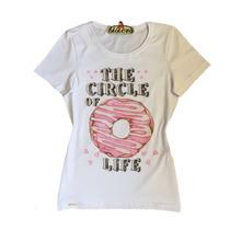 Liquidação Camiseta Feminina Tshirt Da Estação Store
