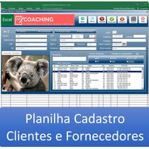Planilha Cadastro Cliente Excel Avançado Com Foto, Busca Cep