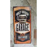 Cuadro Vintage Coleccionable Destapador Harley Davidson