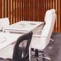 Blanco/Estructura CROMADA
