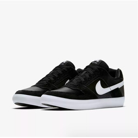 Zapatillas Nike Sb Delta Force Vulc Black / White