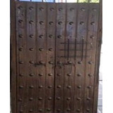 Puerta Antigua De Madera Huanacaxtle