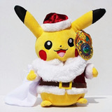 Peluche Pokemon Pikachu Santa Claus 30cm Navidad