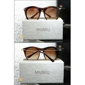 Óculos De Sol Miu Miu Rasoir Importado Já No Brasil #615*