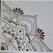 Camila - Stencil 30 X 30cm - Ca03