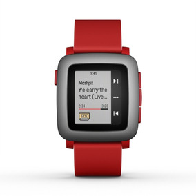 Pebble Time Smartwatch Iphone Android Pantalla Epaper Color