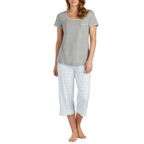 Pijama Capri Para Dama Marca Nautica Talla Xl