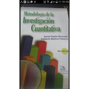Metodologia De Investigacion Cuantitativa ( Santa Palella )