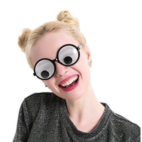 Googly Eyes Glasses - Favores De Partido Redondos Plásticos