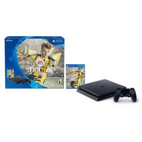 Ps4 Slim 500 Gb + Juego Fifa 17 + 1 Joystick