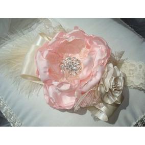 Diadema Valerina Bebes Niña Flores Colores Estilo Vintage