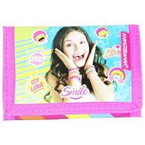 Disney Soja Luna Como Chica Kid Carpeta De La Moneda Del M
