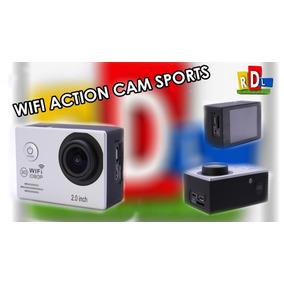 Câmera Spor E Ação Wi-fi Hd 1080p Pronta Entrega