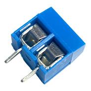10 Unidades Bornera 2 Pines Paso 5mm Electronica Proyectos