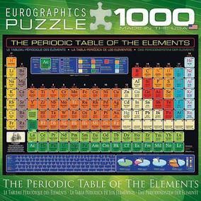 Rompecabezas tabla periodica en mercado libre mxico rompecabezas eurographics tabla peridica de elementos 1000p urtaz Gallery