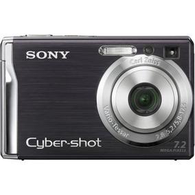 Cámara Cámara Sony Cybershot Dscw80 7.2mp Digital Con Zoom