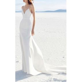 Vestidos de novia entallados con cola