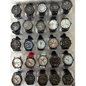 Kit 10 Relógio Masculinos Multi Marcas Promoção