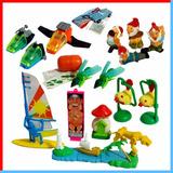 Muñecos Kinder Naves Enanitos Surf Isla Varios