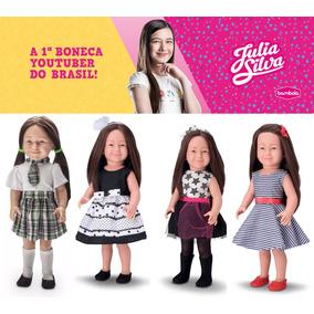 Boneca Julia Silva Youtuber 580 Bambola Lançamento