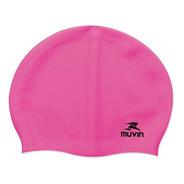 Touca De Natação Em Silicone Slim - Pink - Muvin Tcs-300 ()