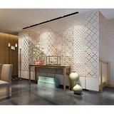Painel Decorativo Mdf Cru 45cm X 45 Cm Elemento Vazado