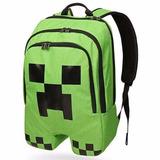Mochila Minecraft Original Pronta Entrega + Estojo !!!