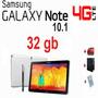 Tablet Samsung Galaxy Note 10,1 32gb 4g+wifi Nuevo +extra