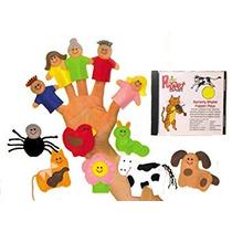 Juguete Prepárese Niños De Cuna De La Marioneta Del Dedo