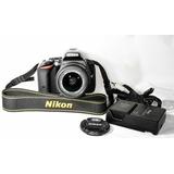 Cámara Nikon D5500 Con Lente 18-55 Vr