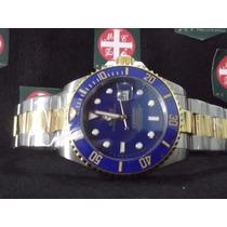 Submariner Cx 44 Misto Azul Automático Prova D´água