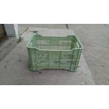 Canasta Plastica Calada Verde Claro (22lbs De Verduras)