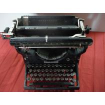 Antigua Maquina De Escribir Underwood