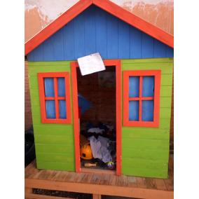 casa de madera para nios
