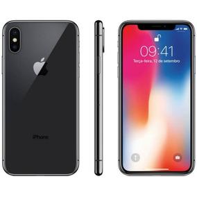 Iphone X Apple 64gb Cinza Espacial Tela Super Retina Hd Ole